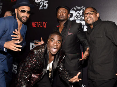 Mandatory Credit: Photo by Dan Steinberg/REX/Shutterstock (9049875ax) Mike Epps, Tracy Morgan, Joe Torry, Martin Lawrence Def Comedy Jam 25, A Netflix Original Comedy Event Arrivals - Beverly Hills, USA - 10 Sep 2017 Def Comedy Jam 25, A Netflix Original Comedy Event, in Beverly Hills on Sunday September 10th.