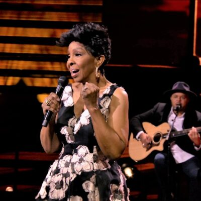 CBS and the Recording Academy¨ announce the new two-hour special A GRAMMY¨ SALUTE TO THE SOUNDS OF CHANGE, to be broadcast Wednesday, March 17 (9:00-11:00 PM, ET/PT) on the CBS Television Network. The special will air three days after THE 63RD ANNUAL GRAMMY AWARDS broadcast on Sunday, March 14 on CBS. Both specials are available to stream live and on demand on Paramount+. Pictured: Gladys Knight Photo: Screen Grab/CBS ©2021 CBS Broadcasting, Inc. All Rights Reserved